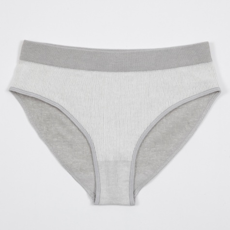 Seamless Bell Pants Fine - Light Grey