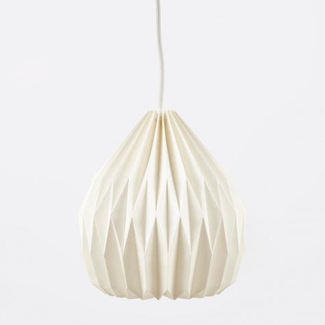 Lampshade Design No.3 - Pure White