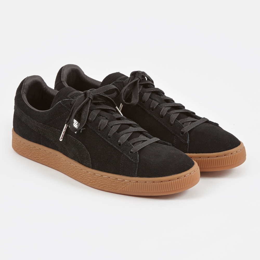 puma suede classic citi black gum. Black Bedroom Furniture Sets. Home Design Ideas