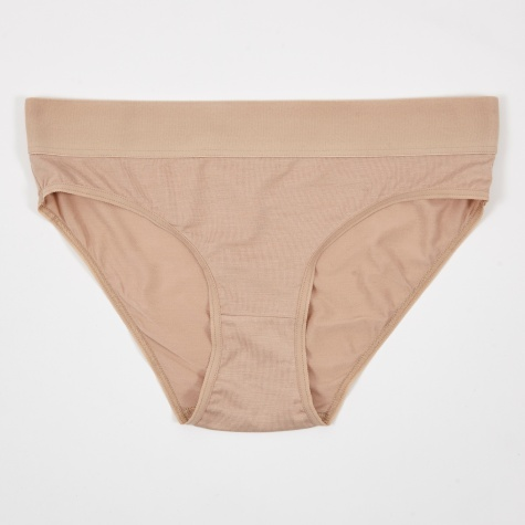 Base Range Elastic Bell Brief - Nude