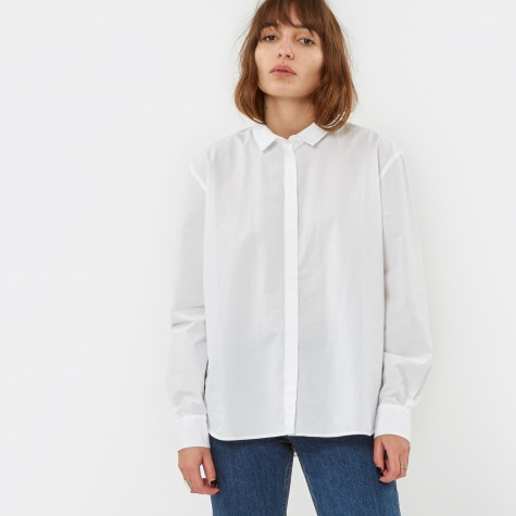 Agnak Paper Cotton Shirt - White
