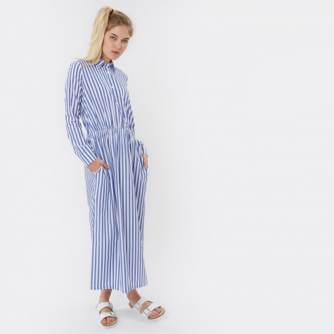 Lulu Dress - Blue Stripe/Nauta