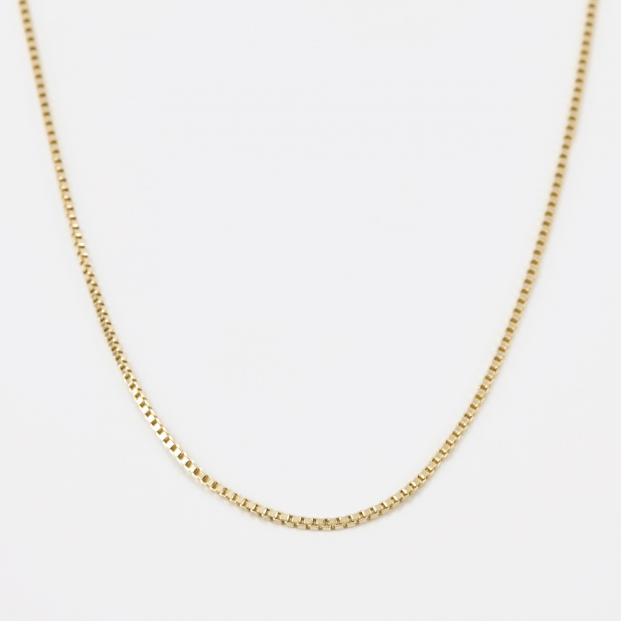 Goods By Goodhood 1.5 Venetian Chain - 9k Yellow Gold (Image 1)