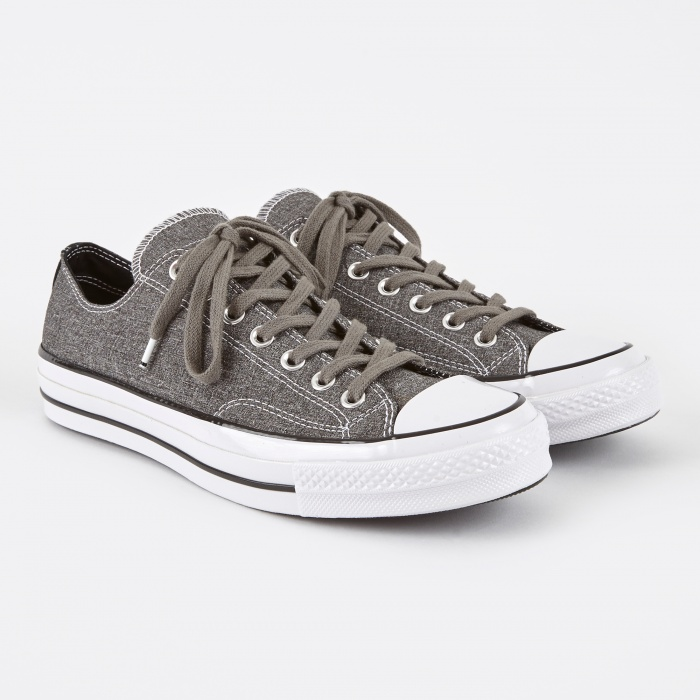 Converse x fragment 1970s Chuck Taylor All Star Ox Tuxedo - Grey (Image 1)