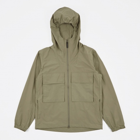 Travis Windbreaker Jacket - Sage