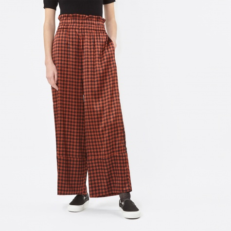 Jolly Silk Trousers - Smoked Paprika