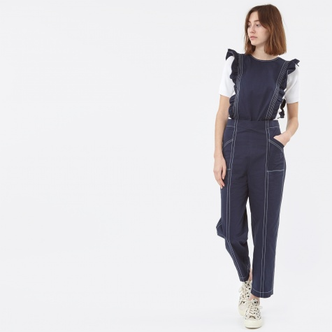 Phillips Cotton Jumpsuit - Total Eclipse