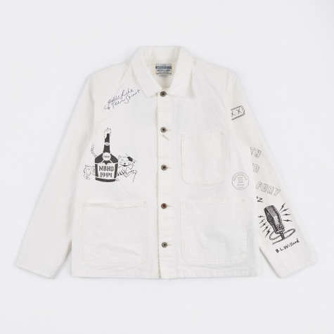 Memorial-CA Jacket - Beige