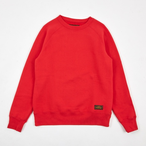 Cam Crewneck Sweatshirt - Red