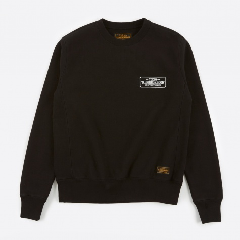 80 Crewneck Sweatshirt - Black