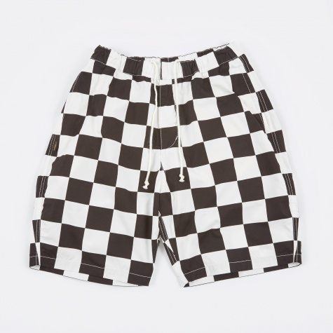 Checker Shorts - Black/White