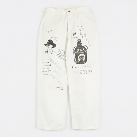 Memorial Trousers - White