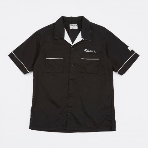 Luker by Neighborhood Bowler SS Shirt - Black