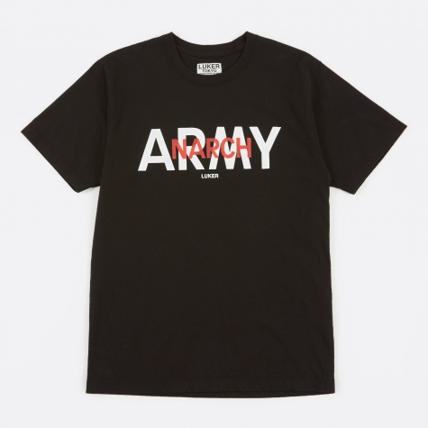 Luker by Neighborhood Army T-Shirt - Black