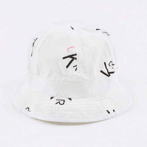 Luker by Neighborhood LKR Pattern Hat - White