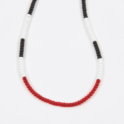 Luker by Neighborhood Beaded Necklace - Red