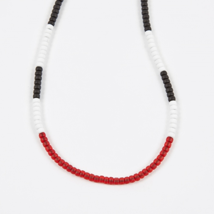 Neighborhood Luker by Neighborhood Beaded Necklace - Red (Image 1)