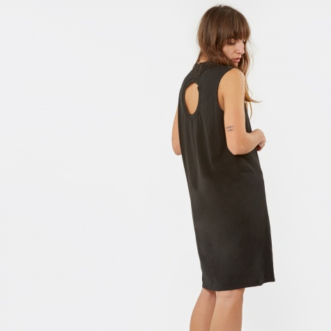 Confused T-Shirt Dress - Black