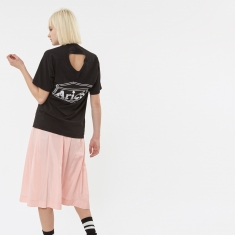 Aries Confused Temple Logo T-Shirt - Black
