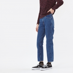 Aries Strip Jean - Dark Wash