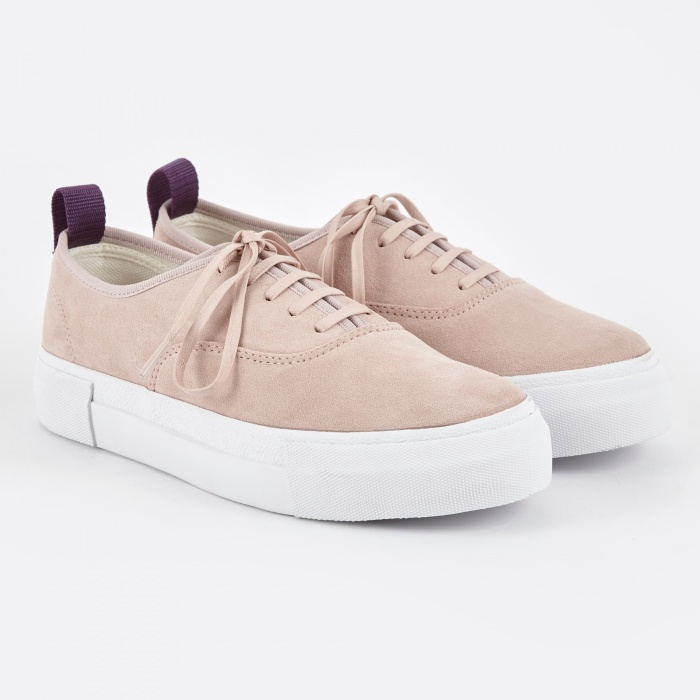 Eytys Mother Suede Sneakers - Powder Pink (Image 1)