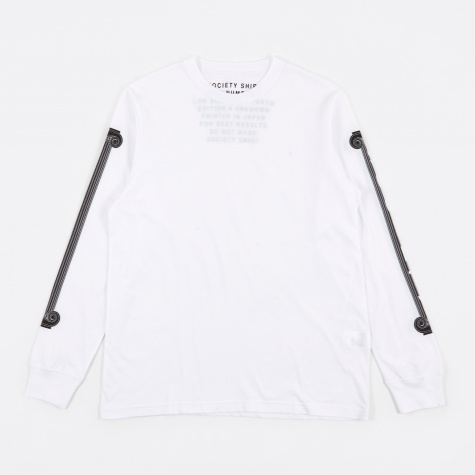 Pillars LS T-Shirt - White