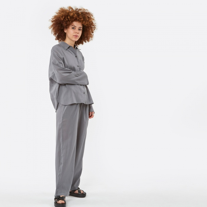 Can Pep Rey Andrea Trousers - Grey (Image 1)
