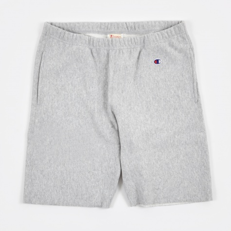 Reverse Weave Shorts - Grey