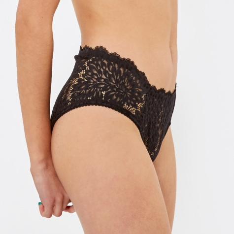 Dahlia Brief - Black