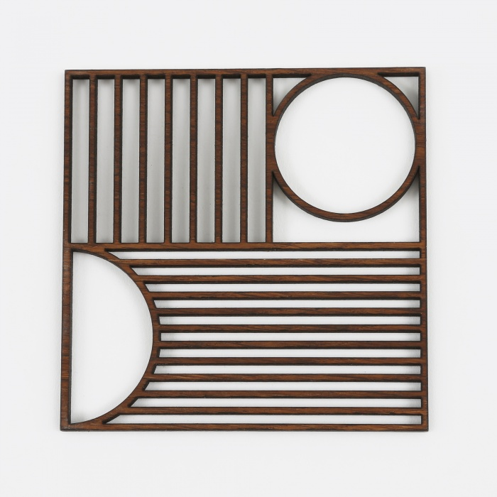 Ferm Living Outline Trivet - Square (Image 1)
