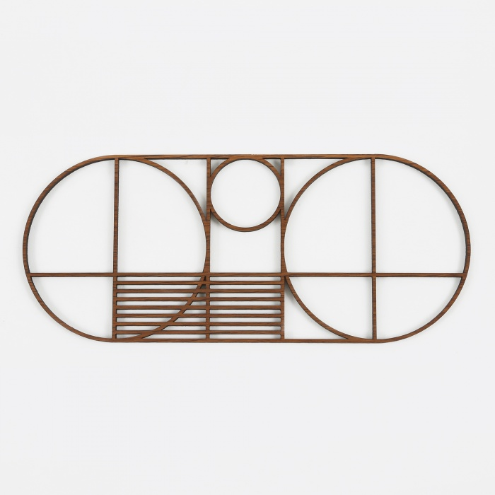 Ferm Living Outline Trivet - Oval (Image 1)