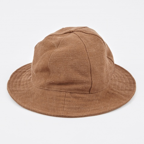 Crusher Hat Canvas - Brown