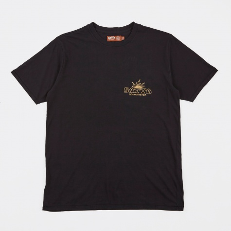 Solar Soundystem Tee - Washed Black