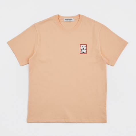 Mini Frame Tee - Peach