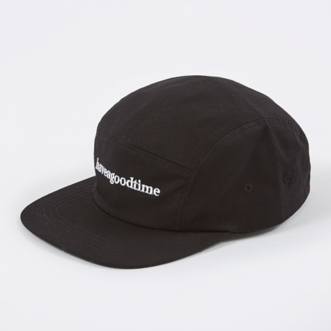 Side Logo Camp Cap - Black