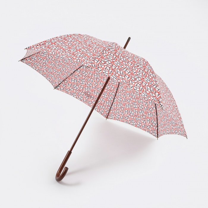 Have A Good Time Frame Pattern Umbrella - Pattern (Image 1)