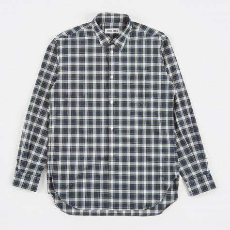Tres Bien Classic Shirt Tartan Checks - Green