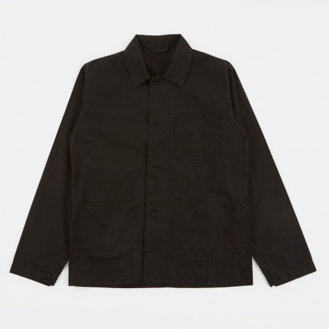 Tres Bien Work Jacket - Black Overdye