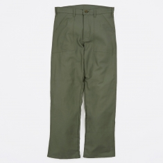 Stan Ray OG107 4 Pocket Fatigue Trousers 8.5oz - Olive Drab Sate