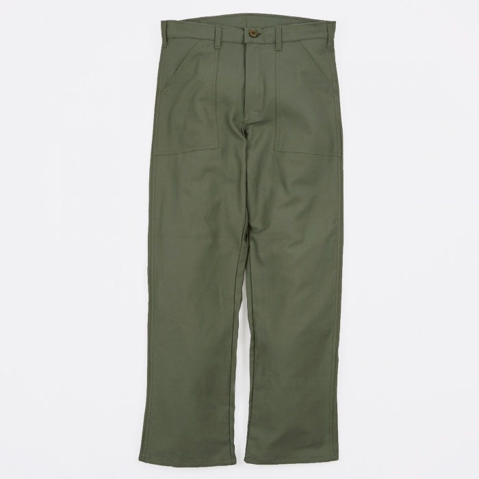 Stan Ray OG107 4 Pocket Fatigue Pant 8.5oz - Olive Drab Sateen (Image 1)