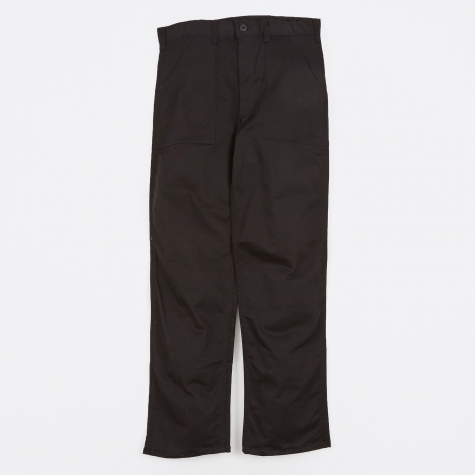 OG107 4 Pocket Fatigue Pant 8.5oz - Black Twill