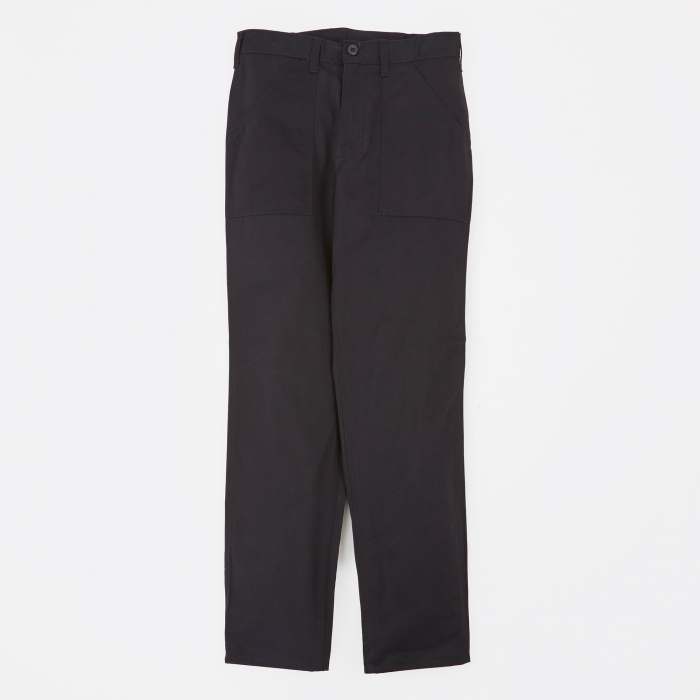 Stan Ray Taper Fit 4 Pocket Fatigue Trousers 8.5oz - Black (Image 1)