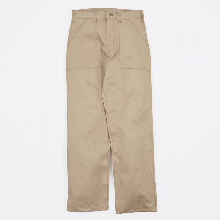 Stan Ray OG107 4 Pocket Fatigue Trousers 8.5oz - Khaki Twill (Image 1)
