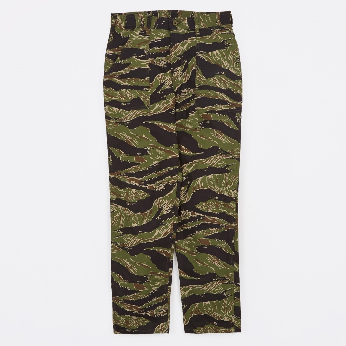 Stan Ray Taper Fit 4 Pocket Fatigue Pant 8.5oz - Tiger Stripe Ri (Image 1)