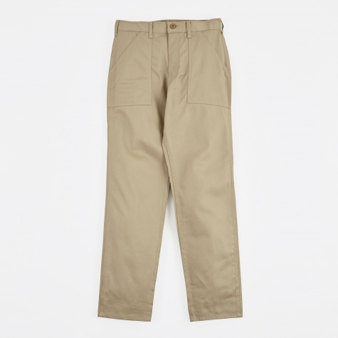 Taper Fit 4 Pocket Fatigue Pant 8.5oz - Khaki