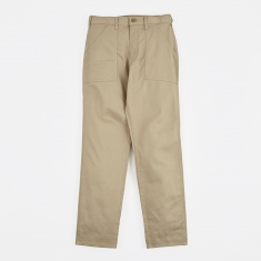 Stan Ray Taper Fit 4 Pocket Fatigue Trousers 8.5oz - Khaki