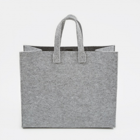 Meno Home Bag Large - Grey Felt