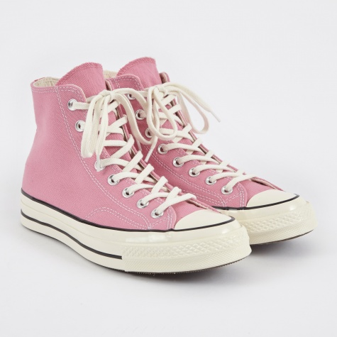 1970s Chuck Taylor All Star Hi - Chateau Rose