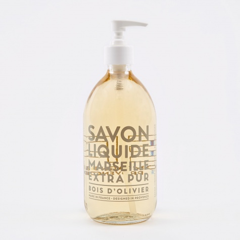Liquid Marseille Soap 500ml - Olive Wood