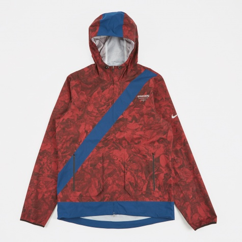 M Jacket Leaf Camo - Team Red